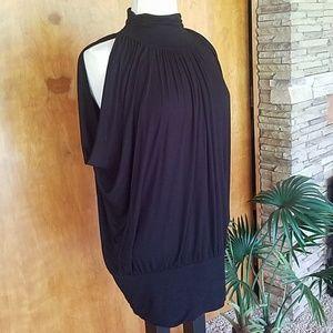 Sleeveless versatile long tunic blouse